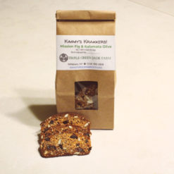 Kimmy's Krakkers - Mission Fig & Kalamata Olive