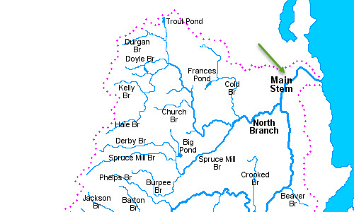 Boquet River Map