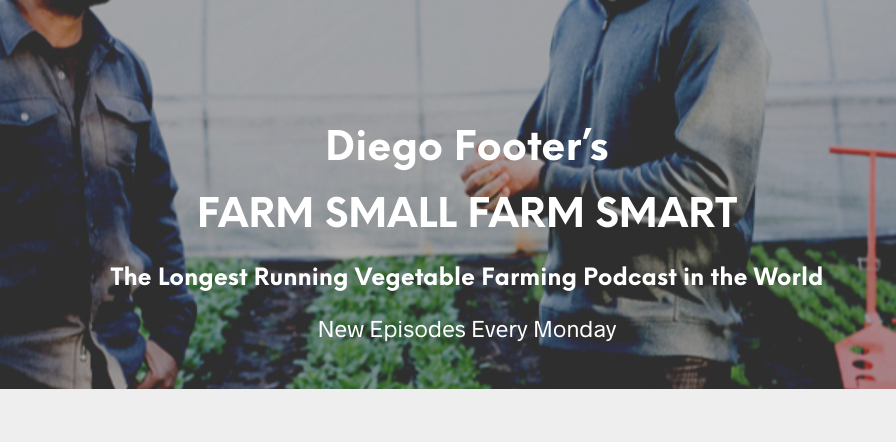 Farm Small Farm Smart with Diego Footer
