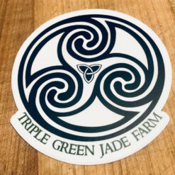 triple-green-jade-farm-sticker