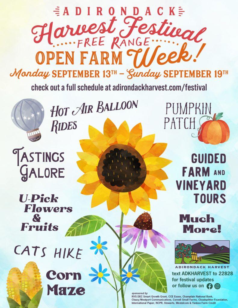 Open Farm Week